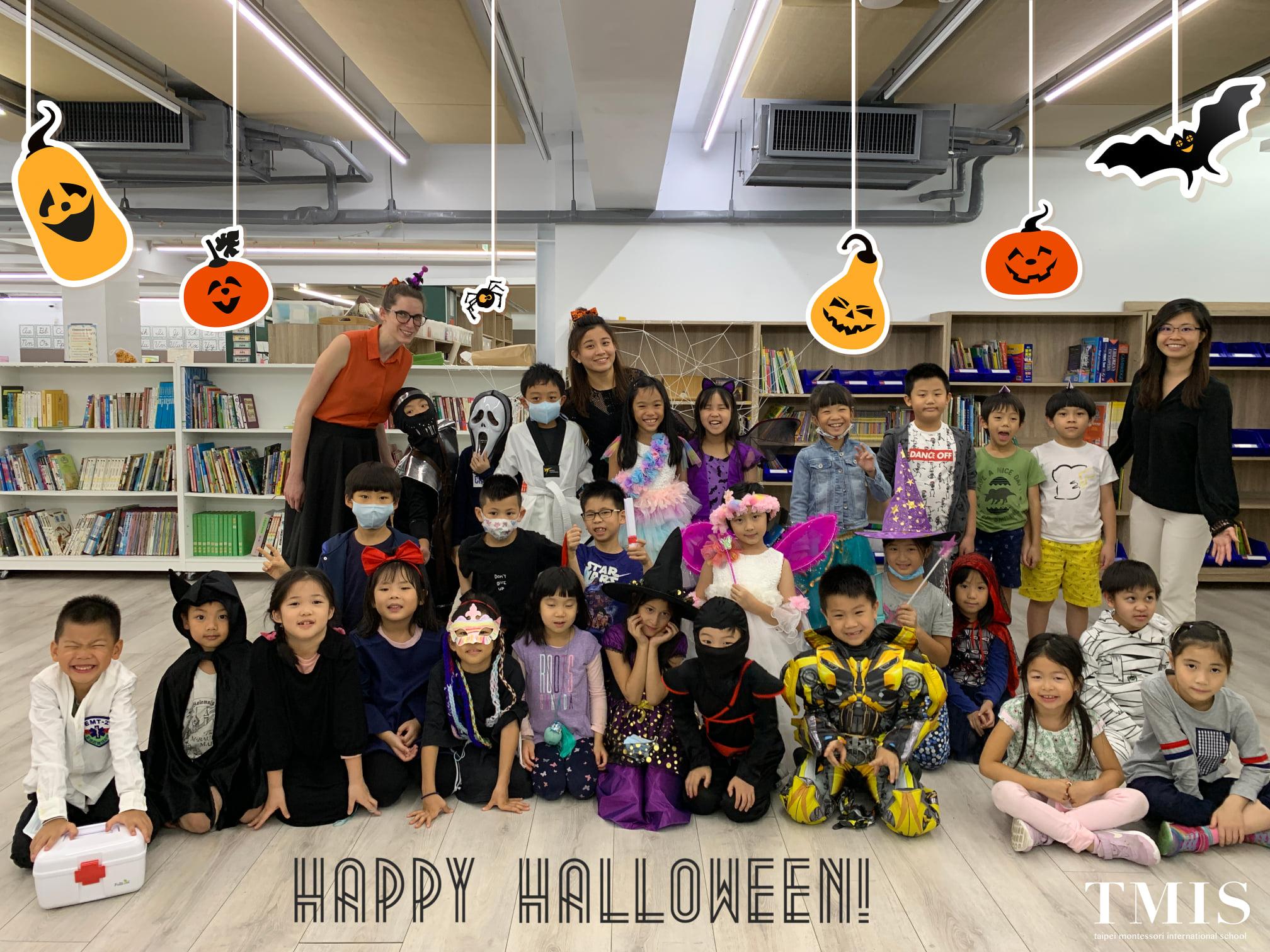 TMIS celebrates Halloween